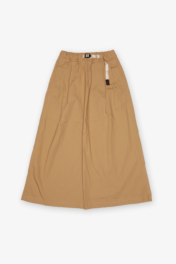 WEATHER LONG FLARE SKIRT SAND
