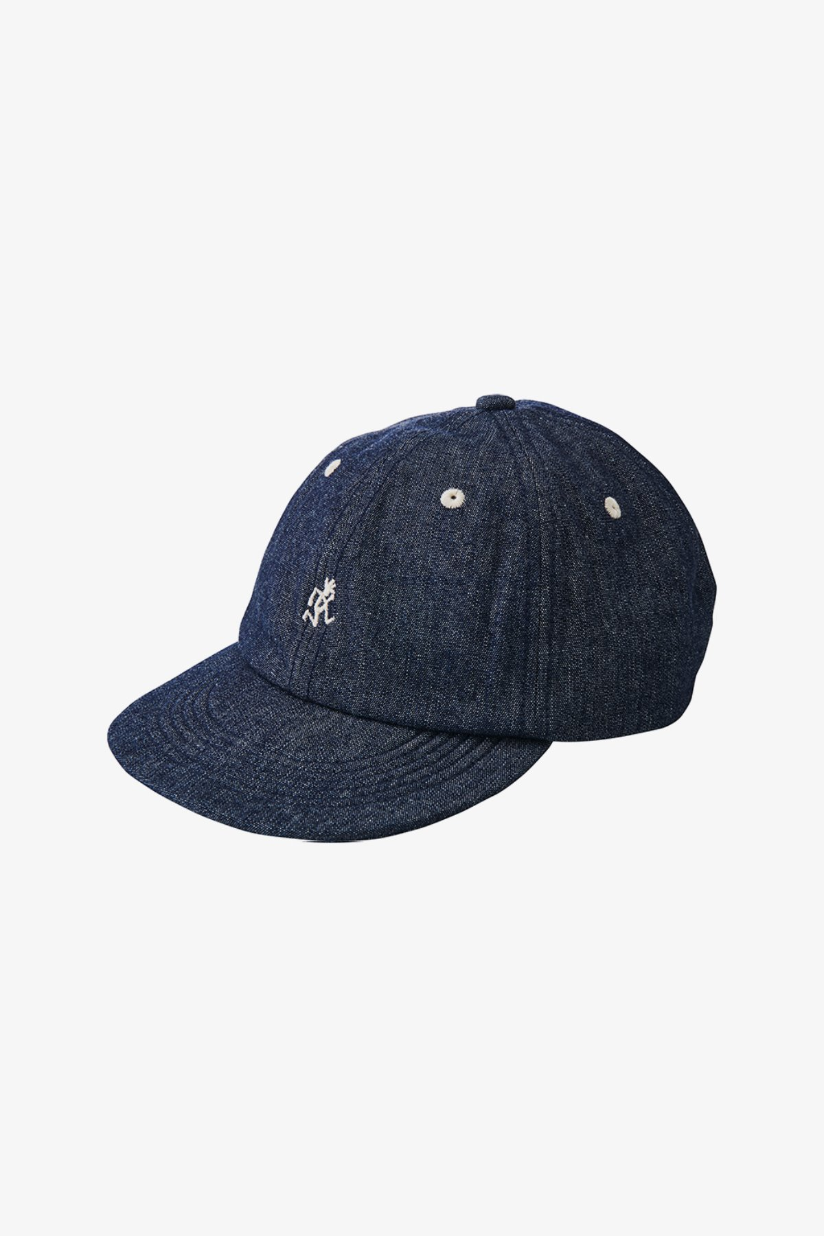 LIGHT DENIM UMPIRE CAP ONE WASH
